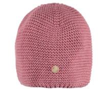 Mütze Strick pink