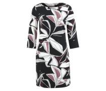 Kleid mit 3/4-langen Ärmeln schwarz