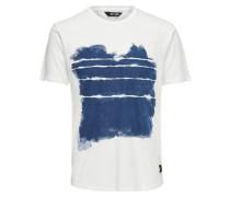 T-Shirt Bedrucktes weiß
