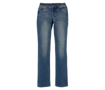 Gerade Jeans »Push-up« blau