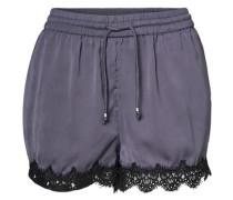 Spitzen-Shorts taubenblau