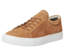 Wildleder-Sneaker ocker