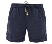 Leichte Shorts dunkelblau
