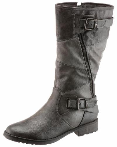 Mustang Damen Shoes Stiefel grau / dunkelgrau