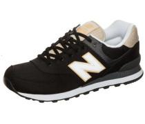 Sneaker 'ml574-Rtd-D' beige / schwarz