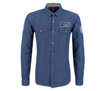 Regular: Hemd im Piloten-Style blue denim