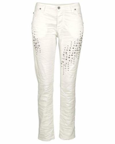 Jeans Boyfriend-Jeans 'p03P' weiß