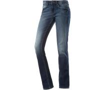 Skinny Fit Jeans Damen blue denim