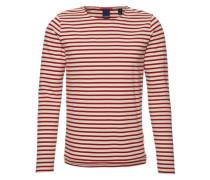 Langarmshirt mit Streifen 'Distillery Breton' rot