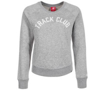 'Essentials Crew' Sweatshirt Damen grau