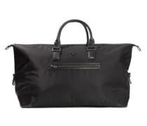Leder-/Nylon-Tasche schwarz