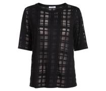 Burnout-Blocking T-Shirt schwarz