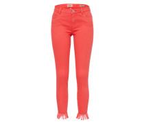 Skinny Jeans 'onlCARMEN' rot