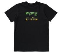T-Shirt 'team Wave' schwarz