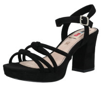 Sandalette 'volga' schwarz