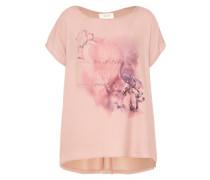 Shirt mit Fotoprint rosé