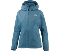 'Tanken' Zip-In Funktionsjacke Damen blau