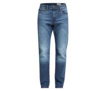 ESPRIT Jeans mit Straight Leg dunkelblau
