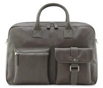 Buddy Business-Tasche Leder 41 cm grau