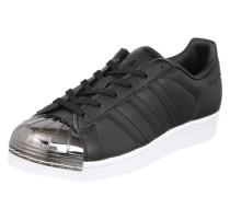 Sneaker 'Superstar' schwarz / silber / weiß