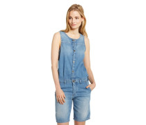 Jeans-Overall blau