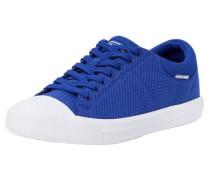 Lässige Schuhe blau / weiß