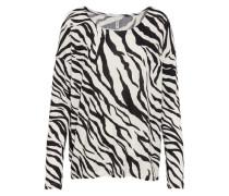 Pullover 'Diana' schwarz / weiß