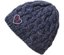 Topfmütze für Mädchen blau