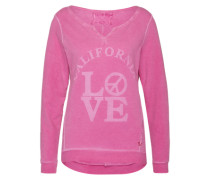 Sweater 'Cali Love' pink