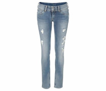 Slim-fit-Jeans 'Vera' blue denim