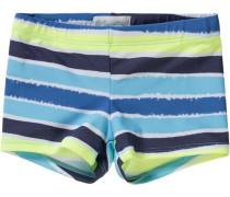 Badehose für Jungen UV-Schutz 50+ hellblau / hellgrün