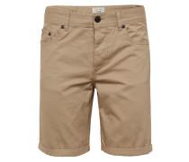 Shorts 'Loom Twill shorts' beige