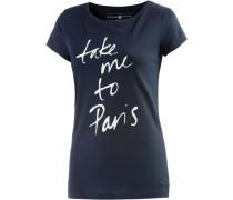 T-Shirt Damen blau