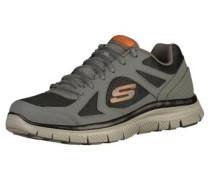 Sneaker grau / orange / schwarz
