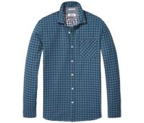 Hemd 'thdm SLS CHK Shirt L/S 20' blau