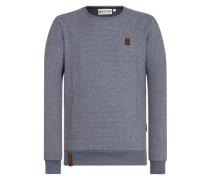 Sweatshirt 'Tadellos abgespritzt II' blaumeliert