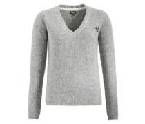 Pullover 'layana' grau / graumeliert