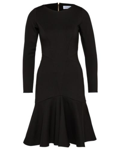 Figurbetontes Kleid schwarz