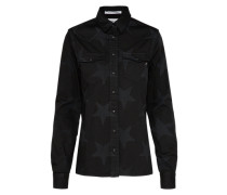 Casual Hemd grau / schwarz