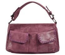 Amina Vintage Handtasche 36 cm rot