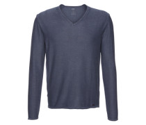 Pullover in Used-Optik ' Citoby' blau