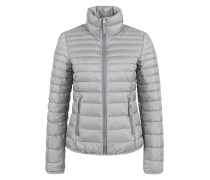 Light Down-Steppjacke grau