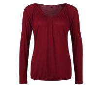 Feminines O-Shape-Shirt rot