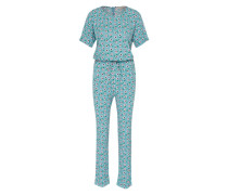 Jumpsuit 'Pup-Up' blau