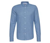 Hemd 'onsRASMUS LS Shirt' blau