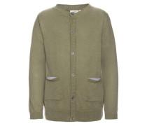 Strick-Cardigan khaki