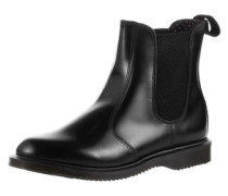 Flora Polished Smooth Stiefeletten schwarz