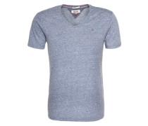 T-Shirt 'Original Melange' schwarz