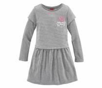 RED Label Junior Jerseykleid graumeliert