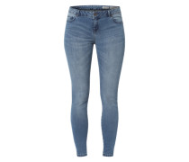 'Minni Skinny' Skinny Fit Jeans blau